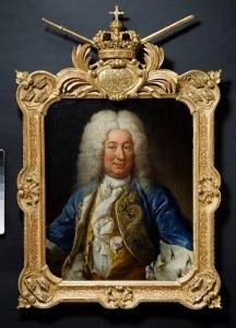 Arvprinsen Fredrik av Hessen (senare konung Fredrik I av Sverige) var en djärv och skicklig kavalleriofficer, som fick många viktiga befäl i Sverige under det stora nordiska krigets slutskede. Han förde befäl i sjöslaget vid Nya Varvet 1717.