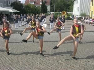 Vild galopp framställs som dans.