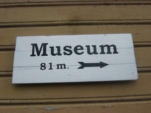 Besökarna har all anledning att gå de 81 meterna till järnvägsmuseet. Foto: Lars Gahrn.