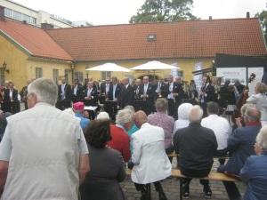 Konserten på Kronhusgården.