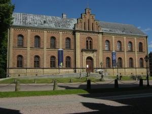 Stifts- och landsbiblioteket – ett bokpalats. Foto: Lars Gahrn.