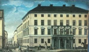 Änkan Johanna Hård fick tjänstebostad i Posthuset (nuvarande Postmuseum) i Gamla stan i Stockholm.