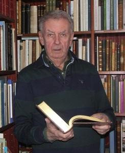 Jan Westin kallar sig och sina andra boksamlare för göteborgianer.