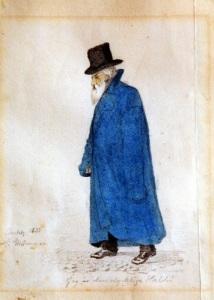 Under de långvariga processerna vandrade John Hall den yngre omkring som ett gatuoriginal. Han och hans rättstvister blev riksbekanta.