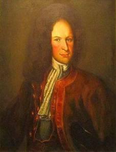 Lars Gathenhielm enligt en oljemålning, som anses föreställa denne berömde kapare.