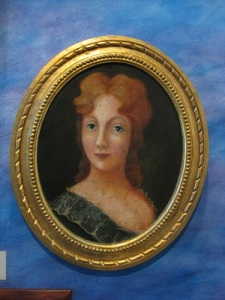 Ingela Gathenhielm, Lars Gathenhielms fru, tog över verksamheten efter makens död år 1718. Foto: Ingvar Riksén.
