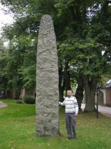 Johan Andreas von Ohmes minnesmärke vid Fredrikstad.