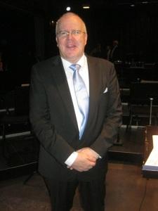 Neil A Baker, musiker och tonsättare. Foto: Lars Gahrn