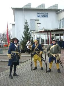 Bohusläns Museum var högkvarteret under firandet. Foto: Lars Gahrn.