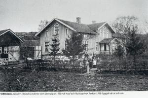 Ekered 1910, då Rut och Axel Adler tog över gården.