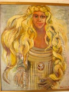 Margareta Fredkulla, avporträtterad av Birgitta Arkenback.
