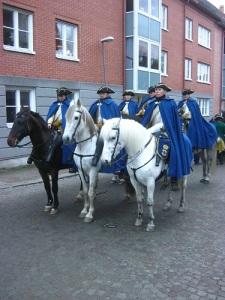En del av det karolinska kavalleriet.