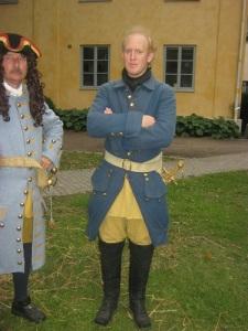 Karl XII hade infunnit sig i härlägret.