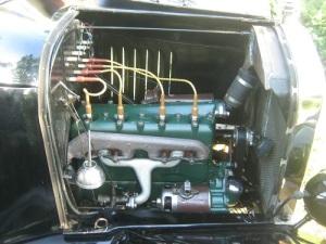 Detta var på sin tid en mycket avancerad motor. Nu framstår den som mycket enkel.
